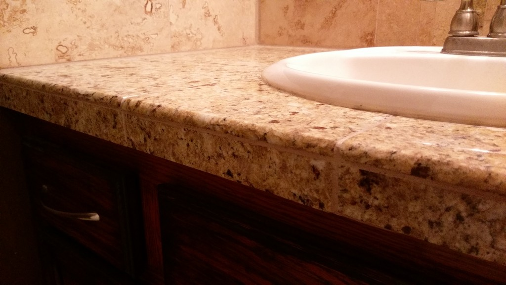 Bullnose Profile Tile Trim Tips Beveled Countertop Front