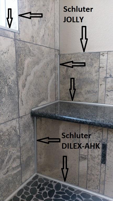 Bullnose Profile Tile Trim Tips Schluter Profiles Just